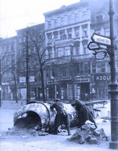 Spartakusaufstand, Januar 1919: Barrikadenkämpfe in Berlin